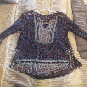 3/4 sleeve lightweight shirt